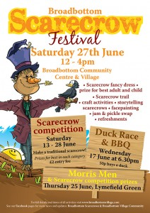 Scarecrow Festival poster